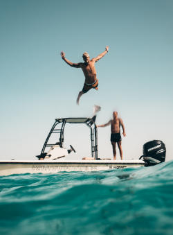 fun on a boat, Florida