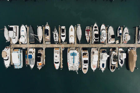 Boat cleaning at your dock